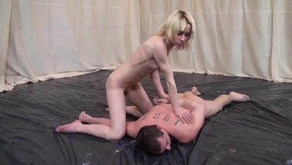 Ardent and sexy Susana Alcal provides a cock with a nonstop ride